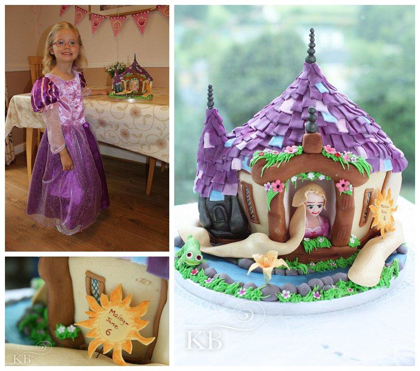 Disney Tangled birthday cake Blog Bespoke celebration cakes