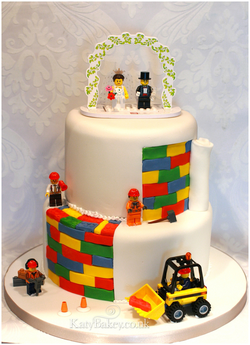Lego Wedding Cake Katybakey